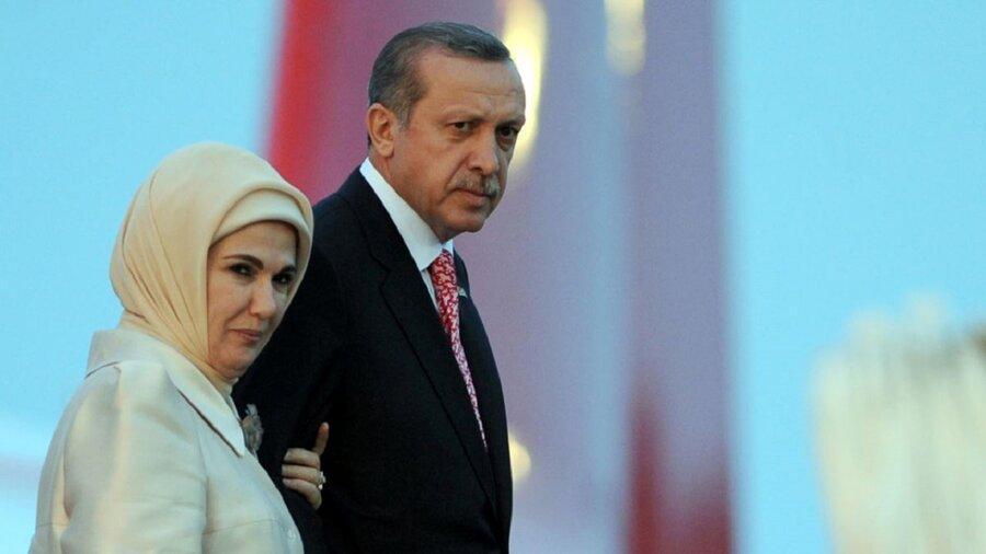 تصاویر ، جنجال نذری درست کردن همسر اردوغان